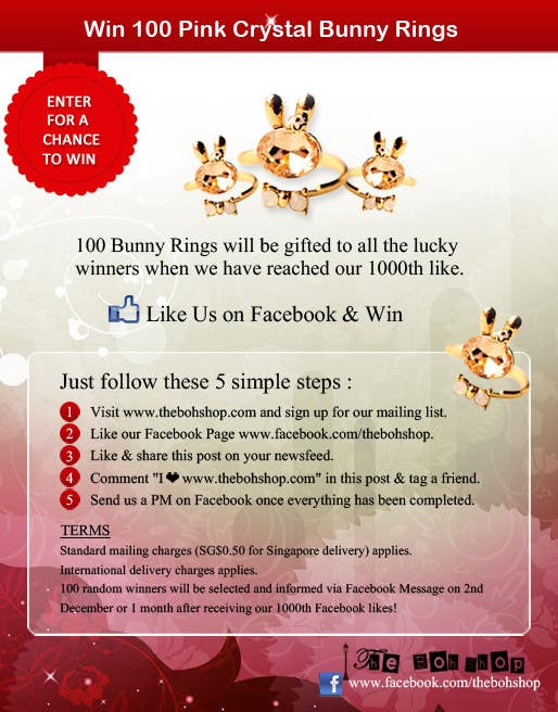 #21 for Design an Advertisement for 1000 Facebook Likes! by mydZnecoz