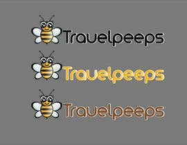 #102 para Design a Logo for TRAVELPEEPS por hanif7