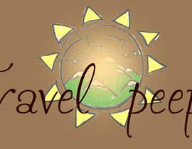 #105 for Design a Logo for TRAVELPEEPS by galinah