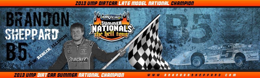Inscrição nº 43 do Concurso para Design a Banner for Brandon Sheppard Racing