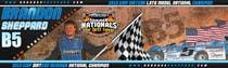 Graphic Design Inscrição do Concurso Nº47 para Design a Banner for Brandon Sheppard Racing