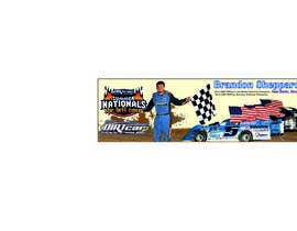 nº 12 pour Design a Banner for Brandon Sheppard Racing par andreyvinnik