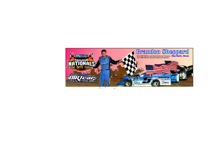 Inscrição nº 17 do Concurso para Design a Banner for Brandon Sheppard Racing