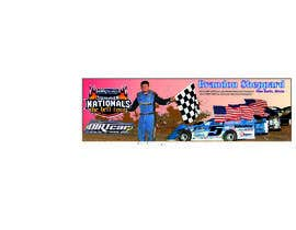 #17 for Design a Banner for Brandon Sheppard Racing by andreyvinnik