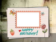 Contest Entry #54 for Design some Stationery for Childs Birthday Photo Card