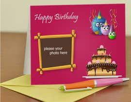 mdmonirhosencit tarafından Design some Stationery for Childs Birthday Photo Card için no 43