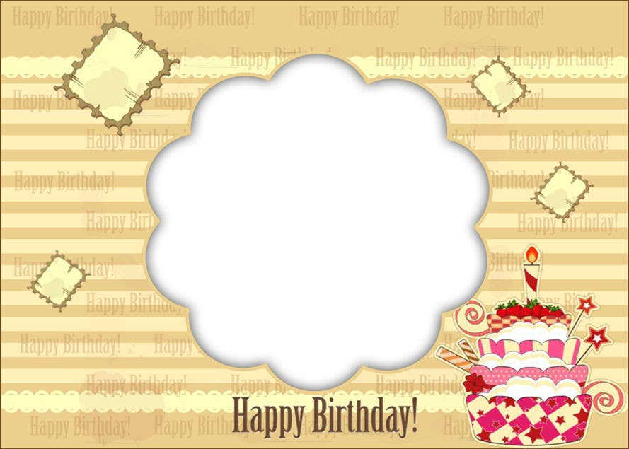 #6 for Design some Stationery for Childs Birthday Photo Card by nandhakumar0711