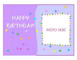 primavaradin07 tarafından Design some Stationery for Childs Birthday Photo Card için no 71