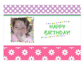 primavaradin07 tarafından Design some Stationery for Childs Birthday Photo Card için no 72