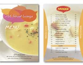 #37 for Design a Banner for MAGGI ZONE MENU by davidliyung