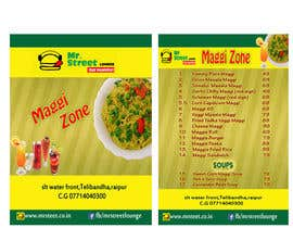 #47 for Design a Banner for MAGGI ZONE MENU af kiranayub22