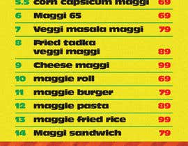 #50 for Design a Banner for MAGGI ZONE MENU by IOdesigner