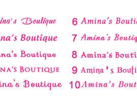 #35 for Design a Logo for Small Women's Boutique by HamdiRejeb
