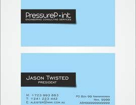 #99 для Business Card Design for Pressurepoint от F5DesignStudio