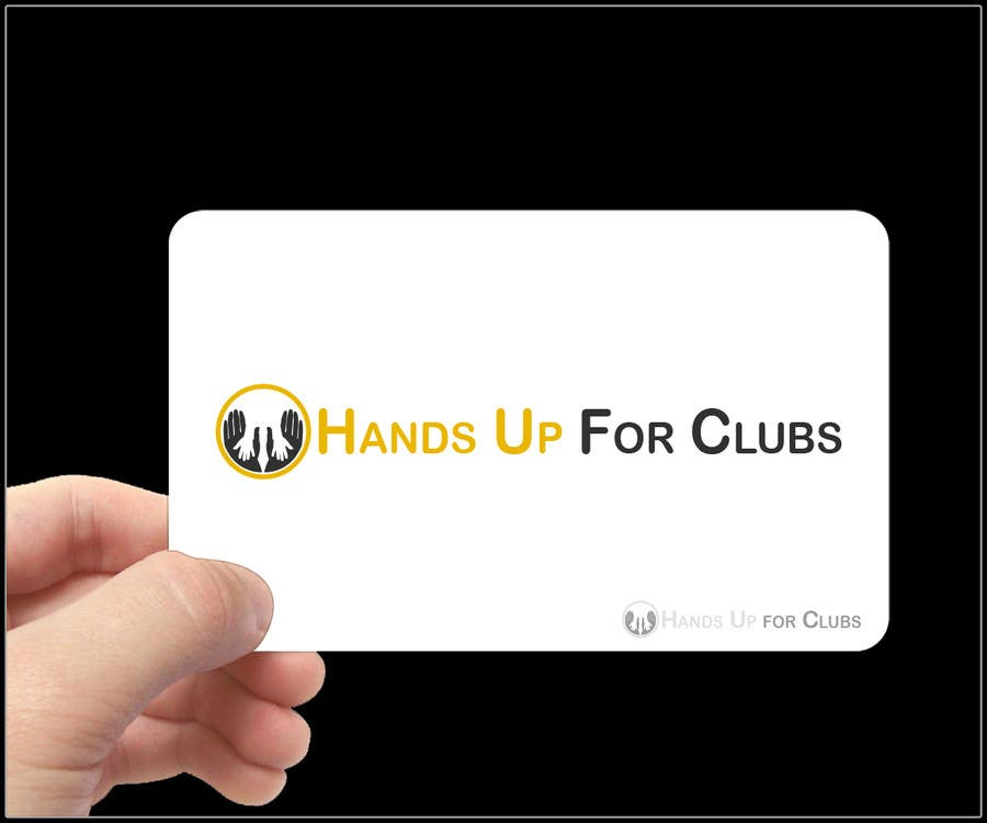 Proposition n°109 du concours Design a Logo for Hands Up for Clubs