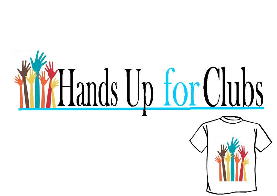 Proposition n°65 du concours Design a Logo for Hands Up for Clubs