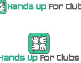 #35 for Design a Logo for Hands Up for Clubs by emzbassist07