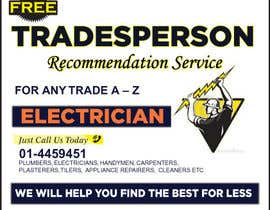 #9 for design 3 a5 leaflets for tradesmen such as plumbers by cronie