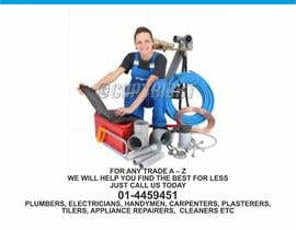 #1 for design 3 a5 leaflets for tradesmen such as plumbers by barinix