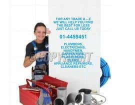 #2 cho design 3 a5 leaflets for tradesmen such as plumbers bởi barinix
