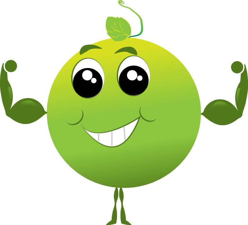 Project a Logo using a animated Pea (cartoon) | Freelancer