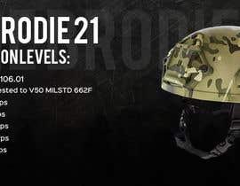 dexas tarafından Helmet Banner Design için no 32