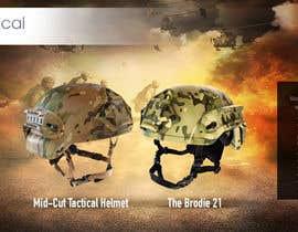 #33 para Helmet Banner Design de rckfreelancer