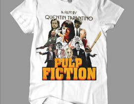 #12 para Quentin Taranatino's movie T-shirt de boki9091