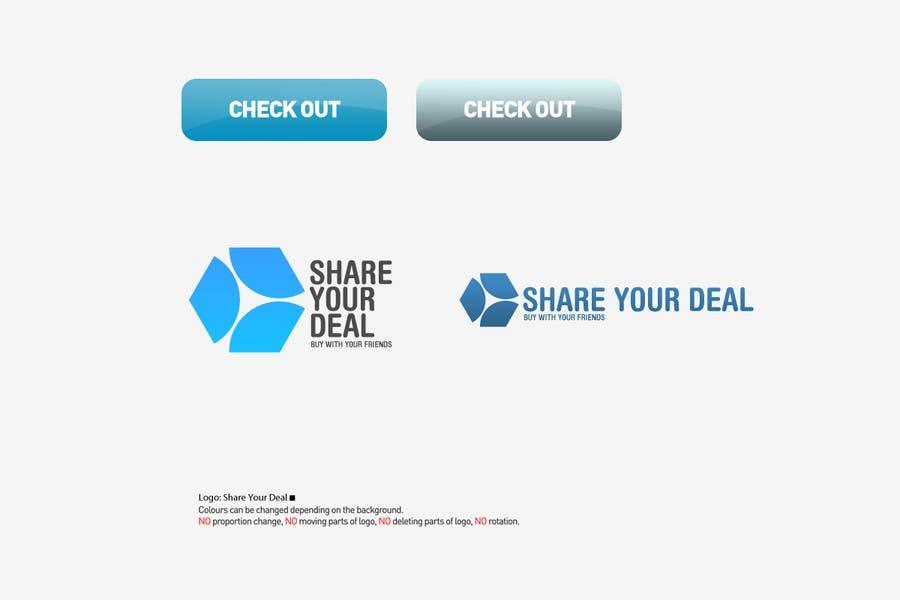 Participación en el concurso Nro.37 para Logo Design for Shareyourdeal