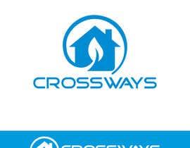 """Nro 17 kilpailuun Luxury Guesthouse logo design """"Crossways"""" käyttäjältä sunmoon1"""