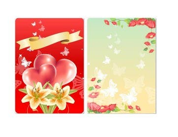 #4 for Design some Stationery for a Wedding Greeting Card by poojark