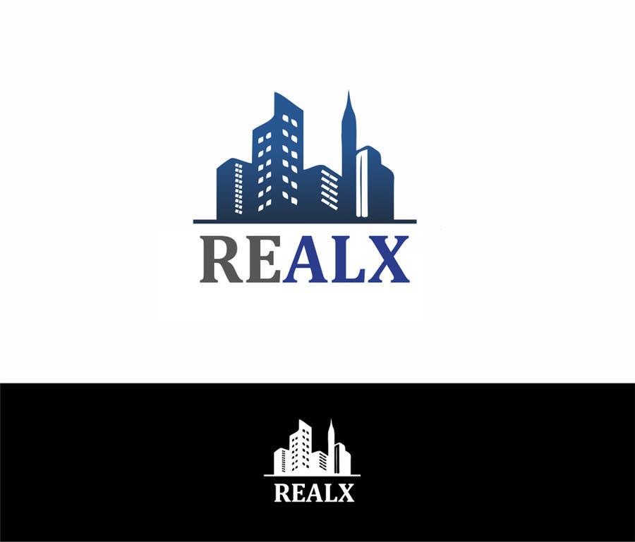 Participación en el concurso Nro.                                        7                                      para                                         REALX - Real estate brand Logo for new investors group