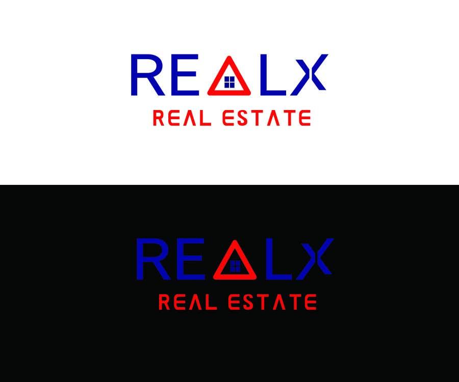 Participación en el concurso Nro.                                        5                                      para                                         REALX - Real estate brand Logo for new investors group