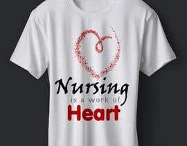 #5 para Nursing is a work of heart de abazadesigns1
