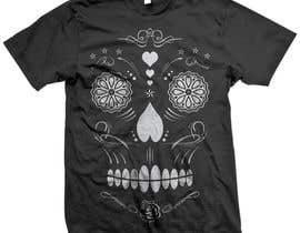 #28 para Design a T-Shirt for day of the dead por triharyoko