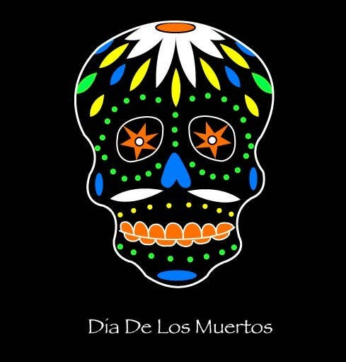 #18 for Design a T-Shirt for day of the dead by CDSpringer
