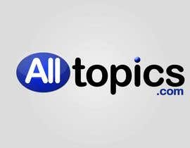 #820 para Logo Design for alltopics.com de UPSTECH135