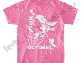 #117 untuk Design a T-Shirt for Breast Cancer Month oleh leninvallejos