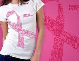 #105 untuk Design a T-Shirt for Breast Cancer Month oleh nitabe