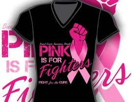 #112 untuk Design a T-Shirt for Breast Cancer Month oleh iYNKBRANE