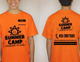 #66 for Kids Summer Camp T shirt design by KaimShaw