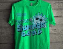 #64 for Kids Summer Camp T shirt design by czsidou