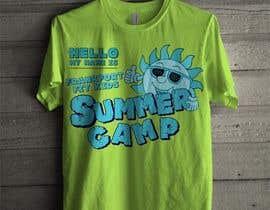 Nro 67 kilpailuun Kids Summer Camp T shirt design käyttäjältä czsidou