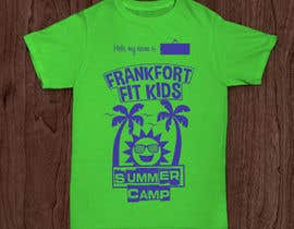 #69 for Kids Summer Camp T shirt design by Lorencooo