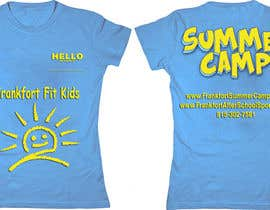 #24 for Kids Summer Camp T shirt design by AndradaDiana