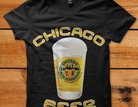 #23 cho Design a T-Shirt for Chicago Beer Experience Beer Tours bởi HeshamMoawad