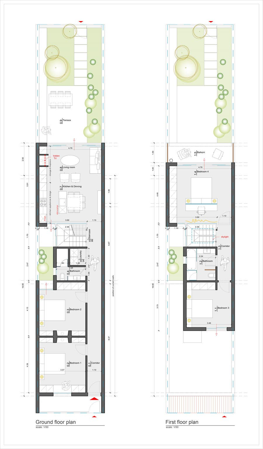 Floor plan victorian terrace thefloors co for Terrace layout