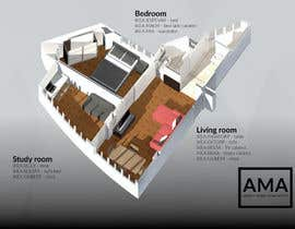 #10 para Floor Plan for a flat de ariediluca