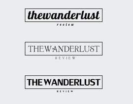 #88 for Design a Logo for The Wanderlust Review. by ashishjoshi999