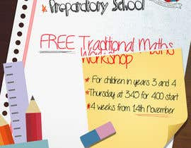 #12 para Design a Flyer for a School Maths Workshop por FlaviussAdam
